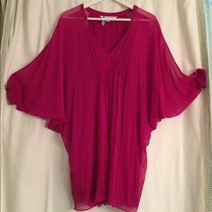 Pretty Fuschia Diane von Furstenburg dress